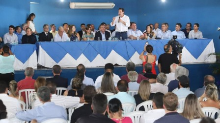 POSSE DO PRESIDENTE SÉRGIO RODRIGUES NA AMUNORPI CONTA COM A PRESENÇA DO GOVERNADOR RATINHO JR.